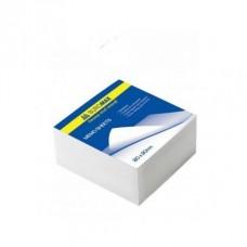 Блок для нотаток білий 90*90*50 мм ВМ.2215 не клеєн.