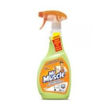 Засіб для миття скла та поверхонь Mr Muscle Лайм 500 мл (004496)