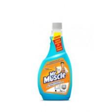 Засіб для миття скла та поверхонь Mr Muscle запаска 500 мл (2001020)