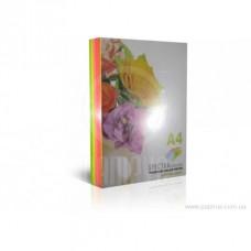 Кольоровий папір А Spektra Color 75 г/м² 250 арк mix неон