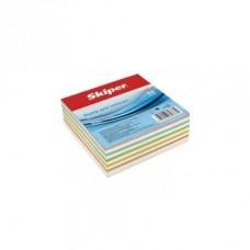 """Нотатки кольорові """"мікс"""" SKIPER SК-2312 85*85 400 арк клеєн."""