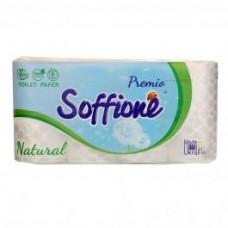Туалетний папір soffione Dekoro 3-шар 8шт