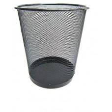 Корзина для сміття металева сріб.